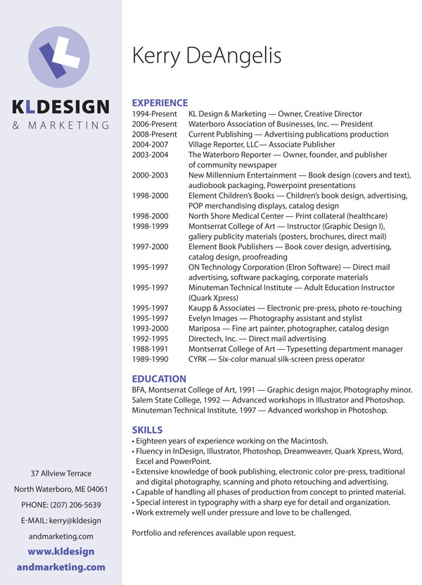 kl design marketing